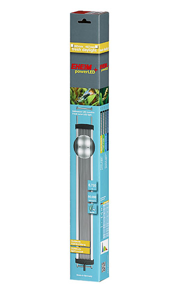 EHEIM powerLED+ fresh daylight 487 mm rampe LEDs universelle pour aquarium d\'eau douce de 49,9 à 66,7 cm