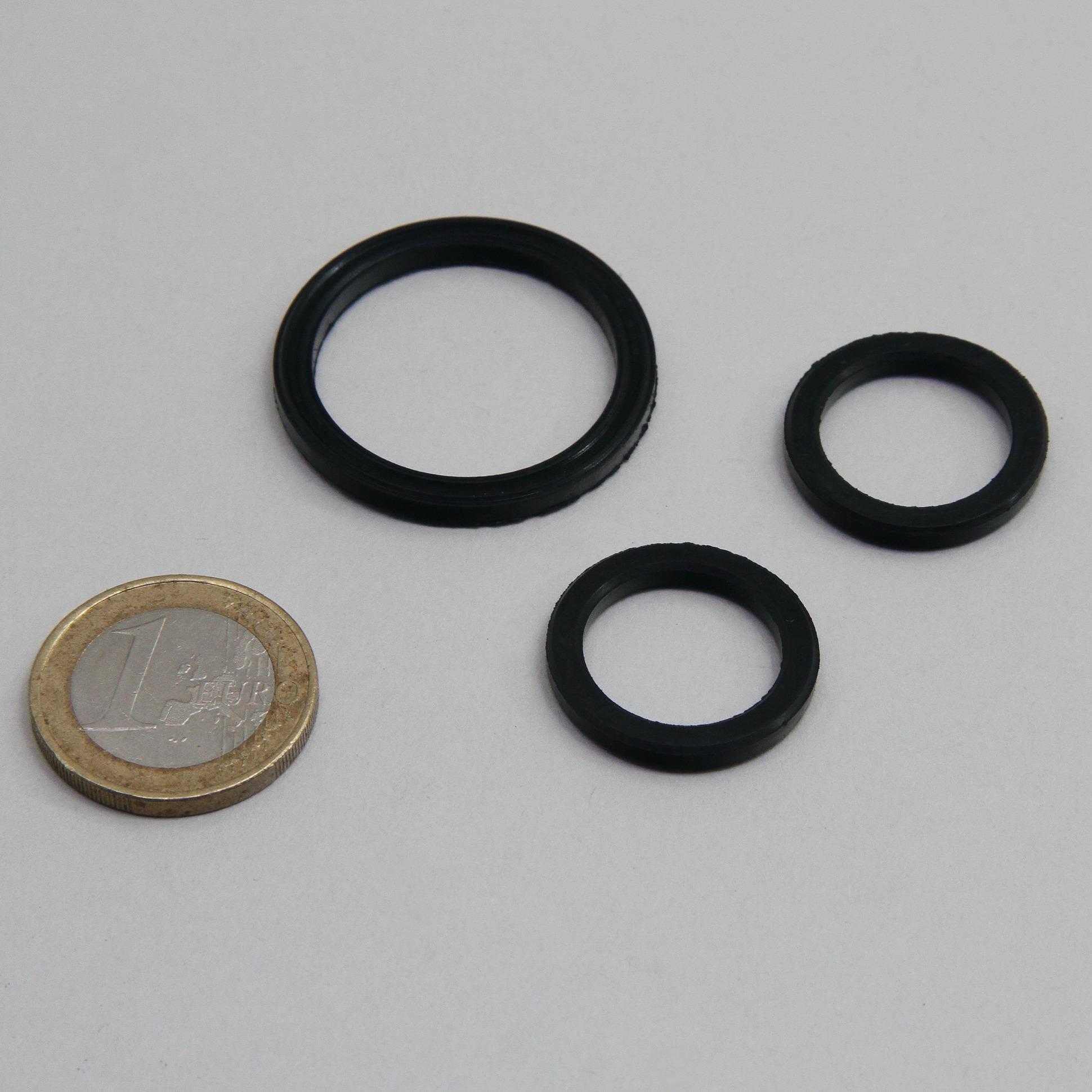 JBL ProFlora Direct Joint Set lot de 3 joints de remplacement pour diffuseurs CO2 Proflora Direct