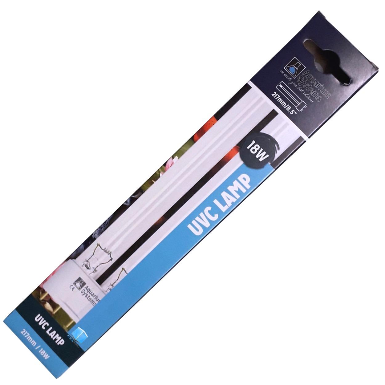 AQUARIUM SYSTEMS UVC Lamp 18W culot 2G11 ampoule compacte UV-C pour stérilisateur