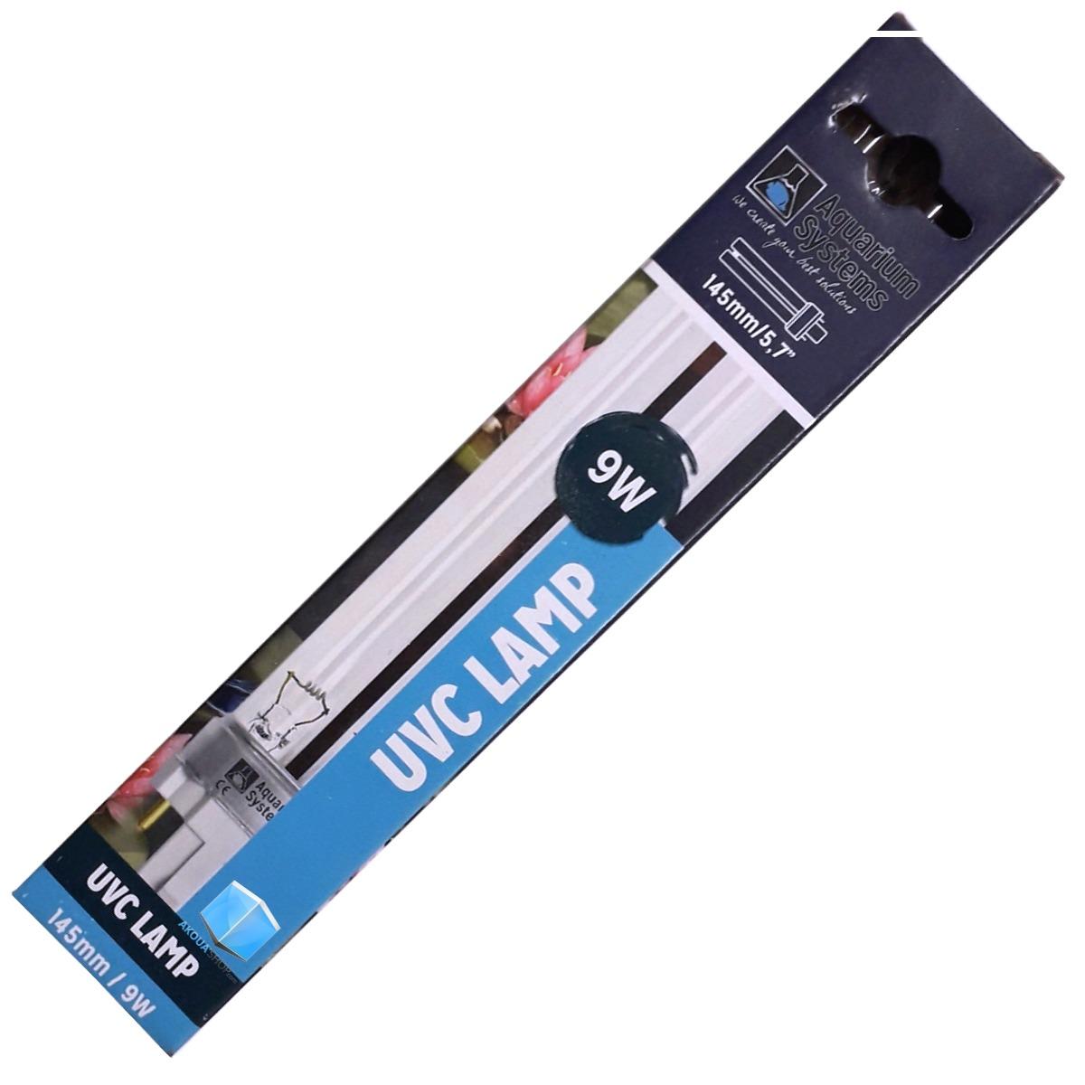 AQUARIUM SYSTEMS UVC Lamp 9W culot G23 ampoule compacte UV-C pour stérilisateur