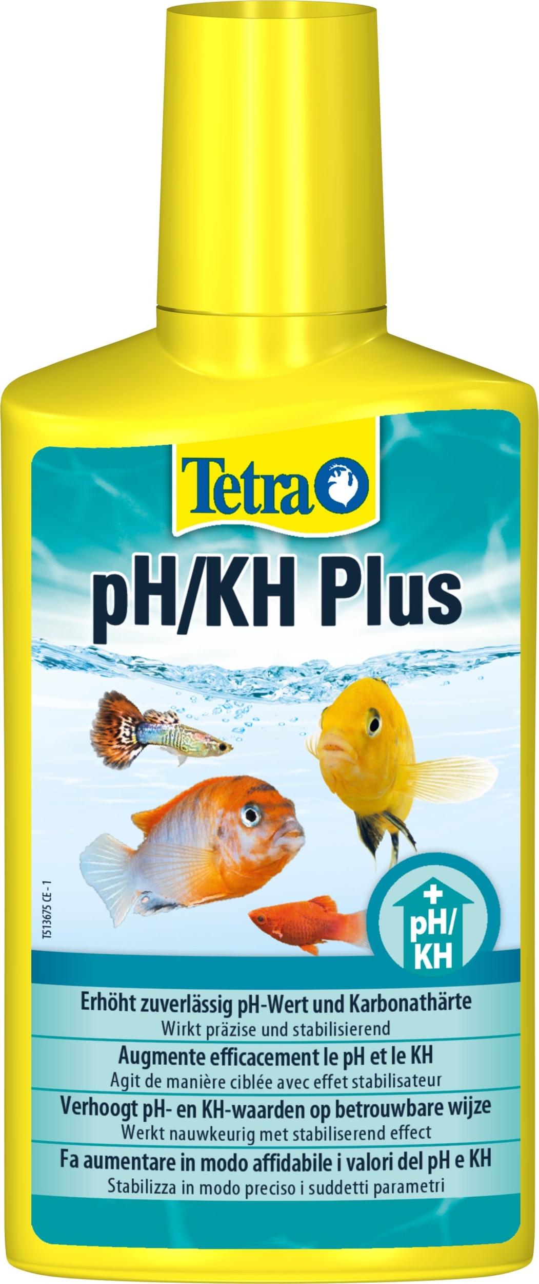 TETRA pH/KH Plus augmente en toute sécurité le pH et le KH dans votre aquarium