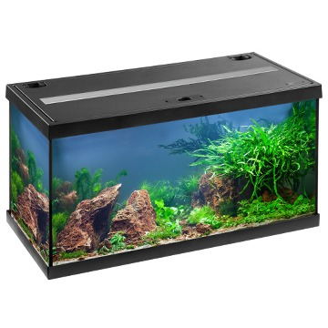 EHEIM AquaStar 54 LED Noir aquarium équipé 60 cm 54L disponible avec ou sans meuble