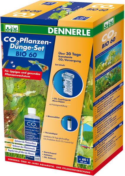 DENNERLE Bio 60 kit de fertilisation CO2 pour aquarium jusqu\'à 80 L