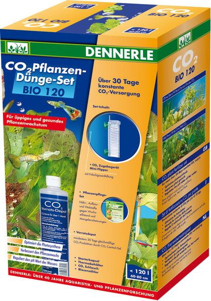 DENNERLE Bio 120 kit de fertilisation CO2 pour aquarium jusqu\'à 120 L