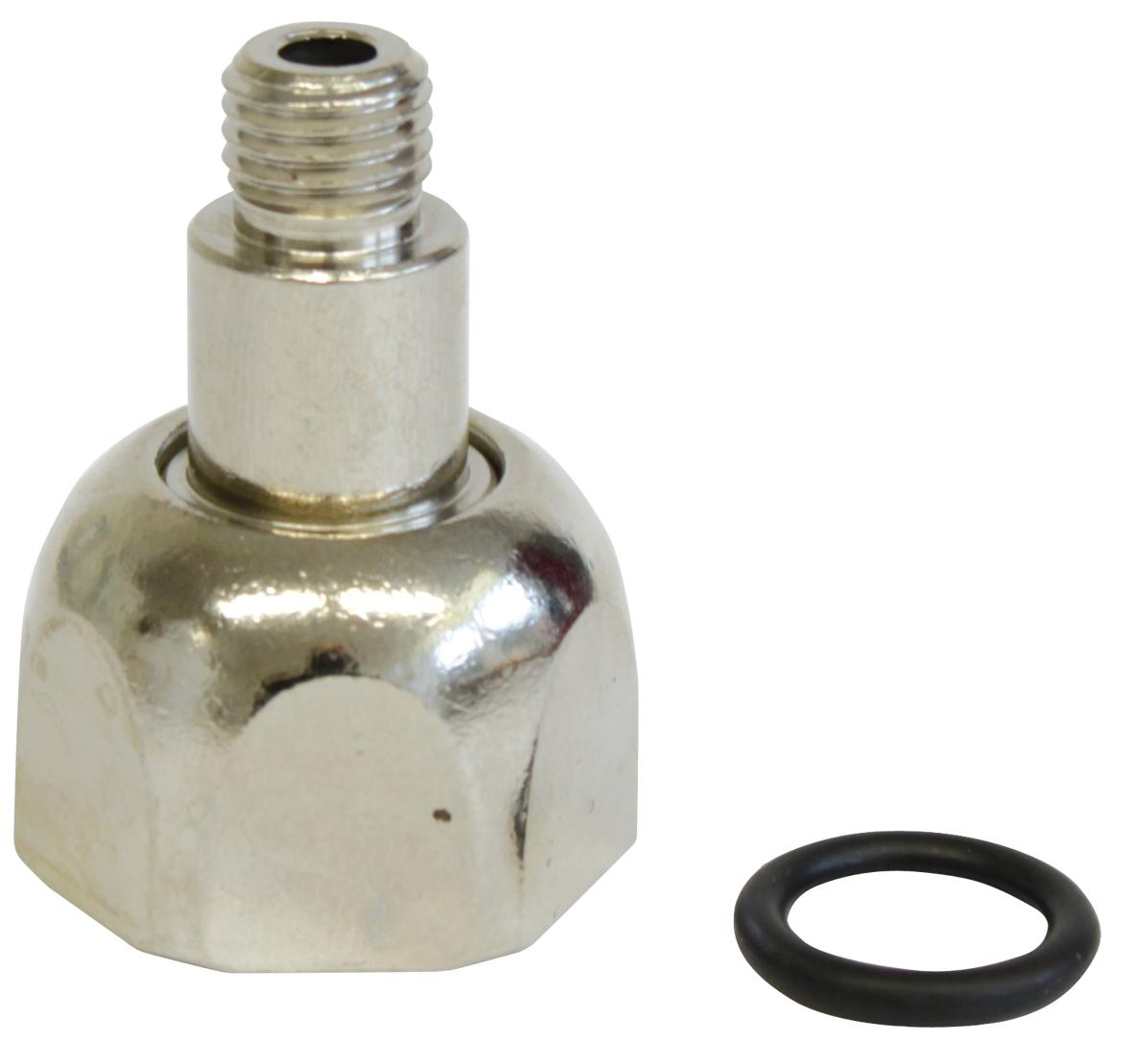 DENNERLE Adaptateur pour passer d\'une bouteille CO2 Jetable à Rechargeable