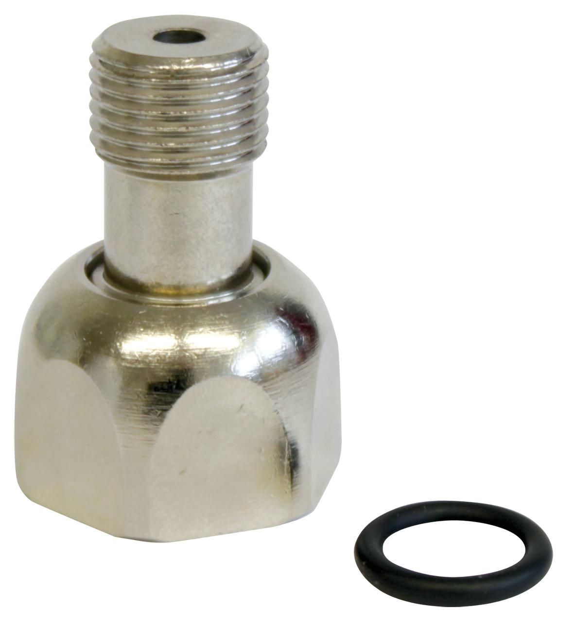 DENNERLE Adaptateur pour passer d\'une bouteille Nano CO2 à une bouteille rechargeable 500 gr ou 850 gr