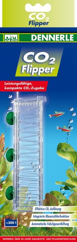 DENNERLE CO2 Flipper diffuseur pour aquarium jusqu\'à 300 L