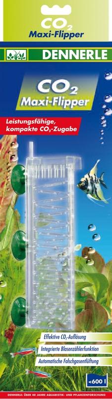 DENNERLE CO2 Maxi-Flipper diffuseur pour aquarium jusqu\'à 600 L