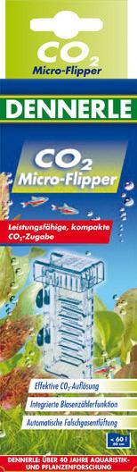DENNERLE CO2 Micro-Flipper diffuseur pour aquarium jusqu\'à 60 L