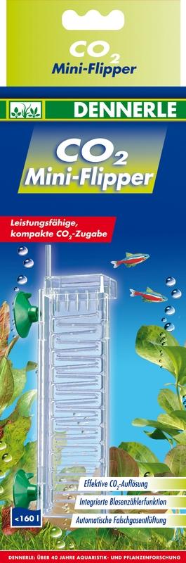 DENNERLE CO2 Mini-Flipper diffuseur pour aquarium jusqu\'à 160 L