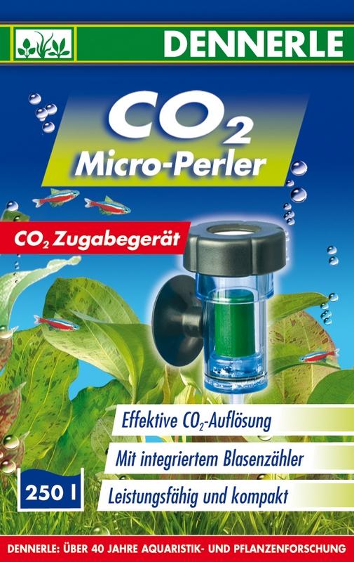 DENNERLE CO2 Micro-Perler diffuseur céramique pour aquarium jusqu\'à 250 L