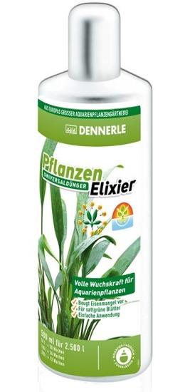DENNERLE Elixir 250 ml engrais liquide universel pour plantes d\'aquarium. Traite jusqu\'à 1250 L