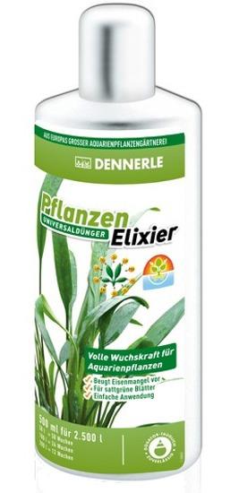 DENNERLE Elixir 500 ml engrais liquide universel pour plantes d\'aquarium. Traite jusqu\'à 2500 L