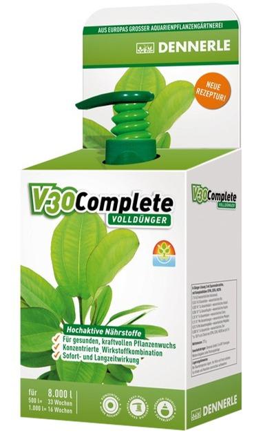 DENNERLE V30 Complete 250 ml engrais complet qualité pro pour traiter jusqu\'à 8000 L