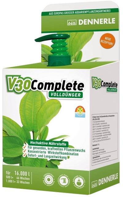 DENNERLE V30 Complete 500 ml engrais complet qualité pro pour traiter jusqu\'à 16000 L