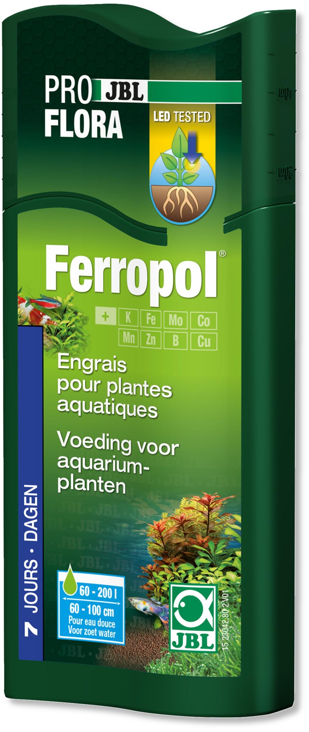 JBL Ferropol 250 ml engrais liquide complet contenant des oligo-éléments