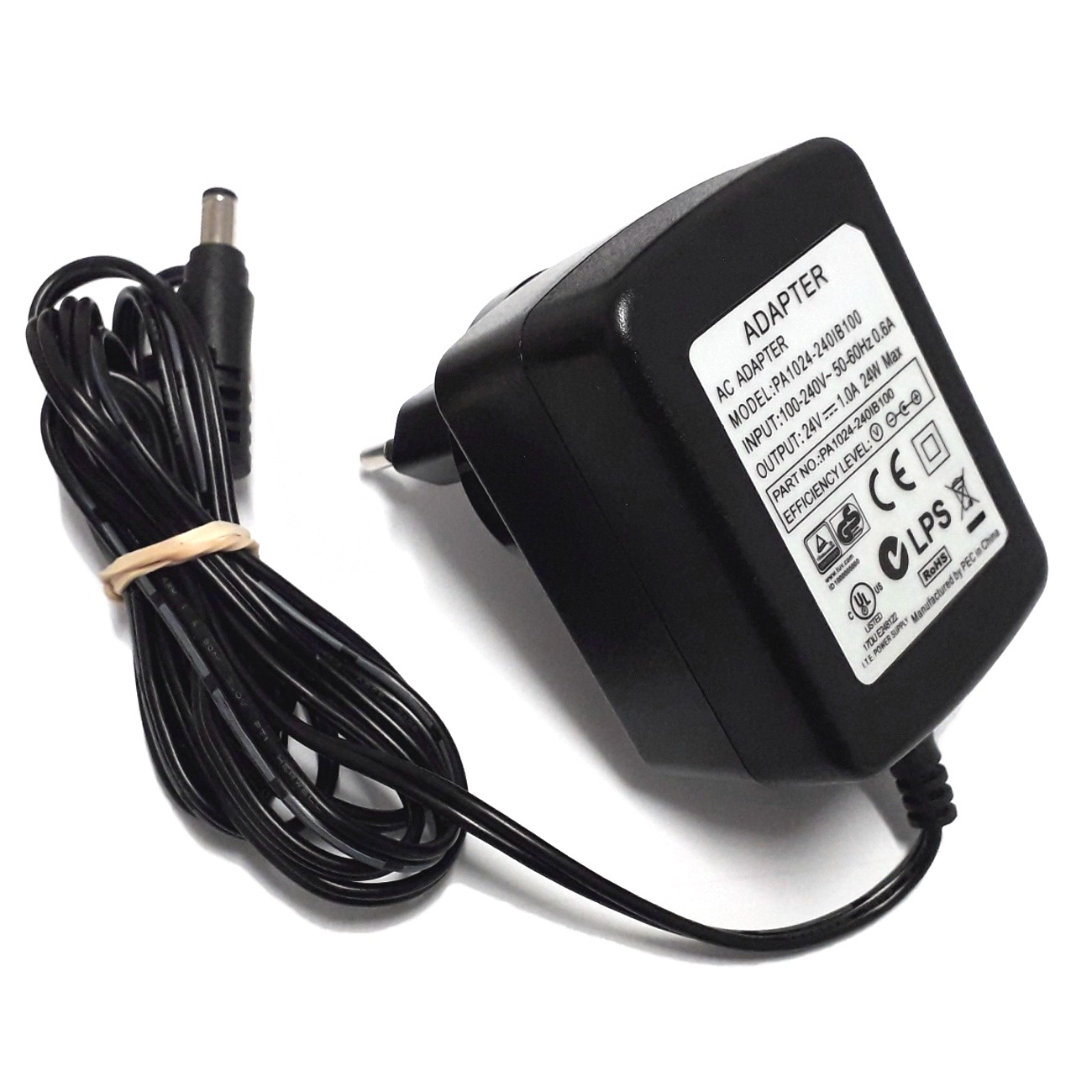AQUA MEDIC Transformateur 24V 1A universel pour pompe, rampe leds, etc.