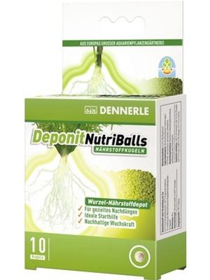 DENNERLE Deponit NutriBalls lot de 10 boules d\'engrais universelles pour racines