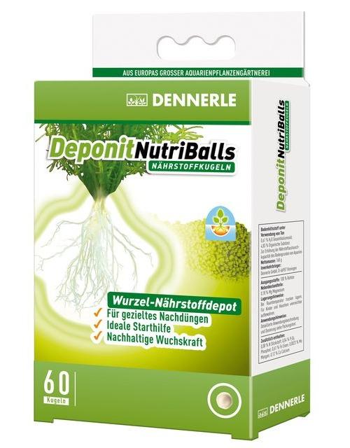 DENNERLE Deponit NutriBalls lot de 60 boules d\'engrais universelles pour racines