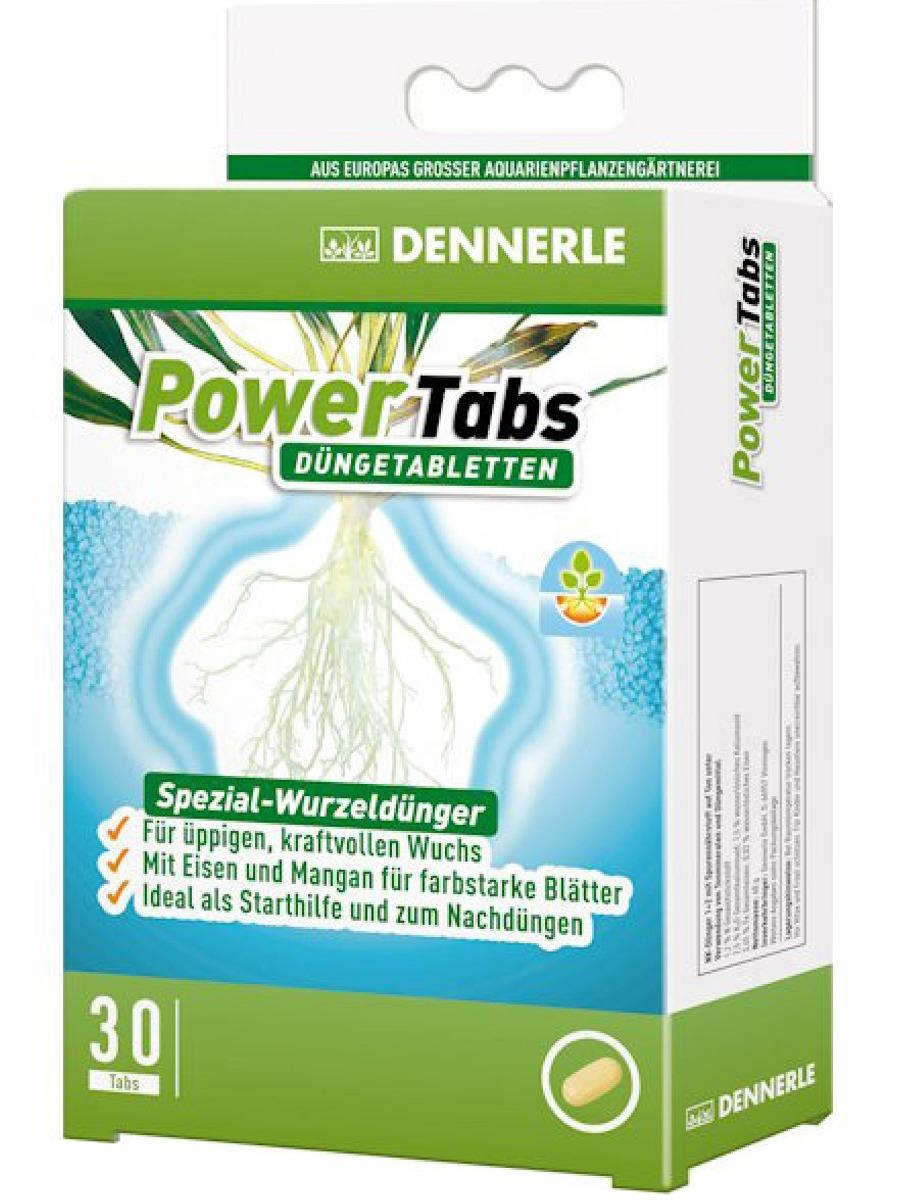 DENNERLE Power Tabs 30 comprimés fertilisantes complètes pour les racines de vos plantes d\'aquarium