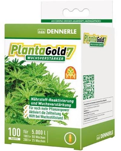 DENNERLE PlantaGold 7 lot de 100 capsules de bio-enzymes pour booster la croissance des plantes. Traite jusqu\'à 5000 L