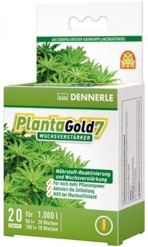 DENNERLE PlantaGold 7 lot de 20 capsules de bio-enzymes pour booster la croissance des plantes. Traite jusqu\'à 1000 L