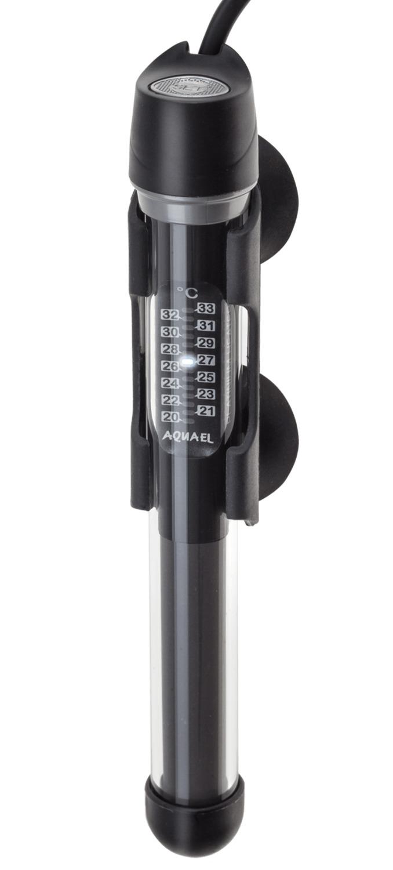 AQUAEL Platinium Heater 25W chauffage pour aquarium de 10 à 25L avec thermostat électronique intégré