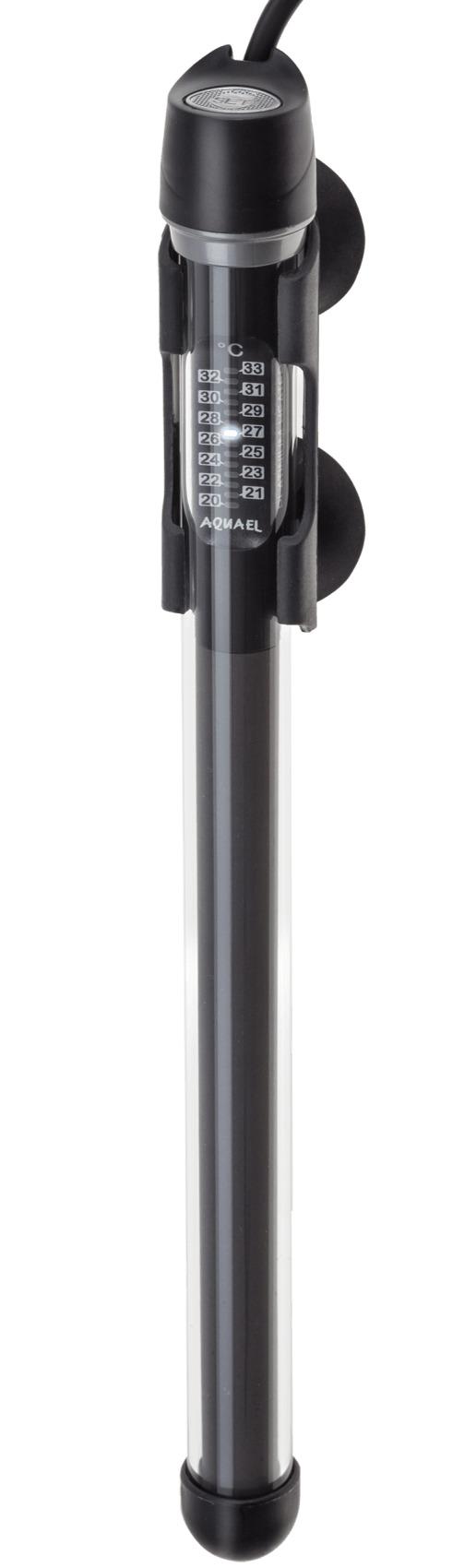 AQUAEL Platinium Heater 200W chauffage pour aquarium de 130 à 200L avec thermostat électronique intégré