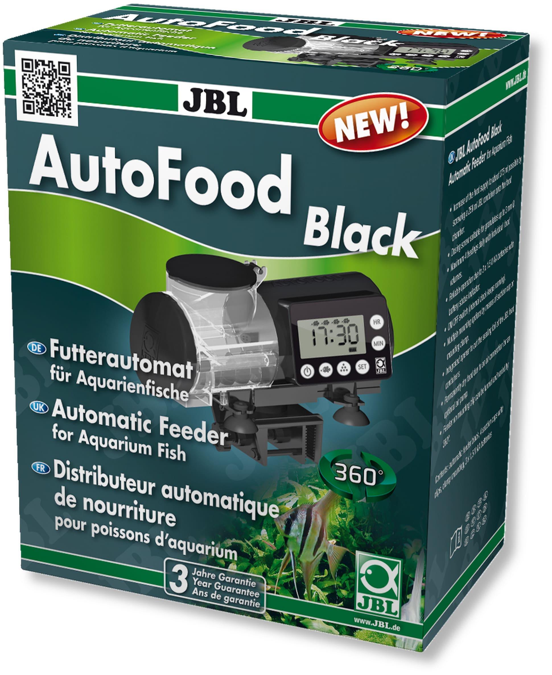 JBL AutoFood Black distributeur de nourriture automatique pour aquarium