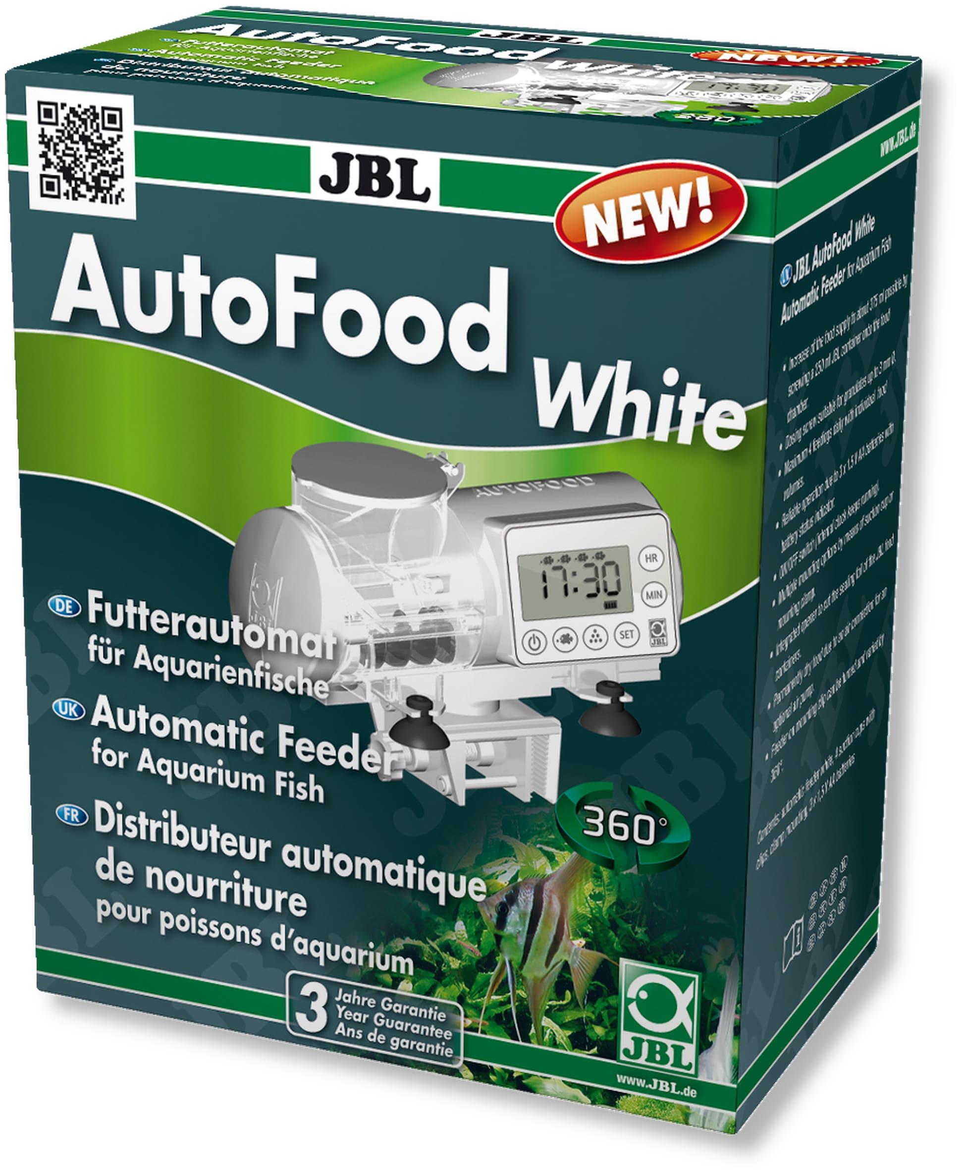 JBL AutoFood White distributeur de nourriture automatique pour aquarium