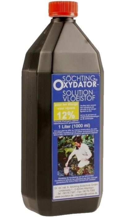 SÖCHTING Recharge Oxydator 12% bouteille 1 L de Liquogène pour réacteur Oxydator