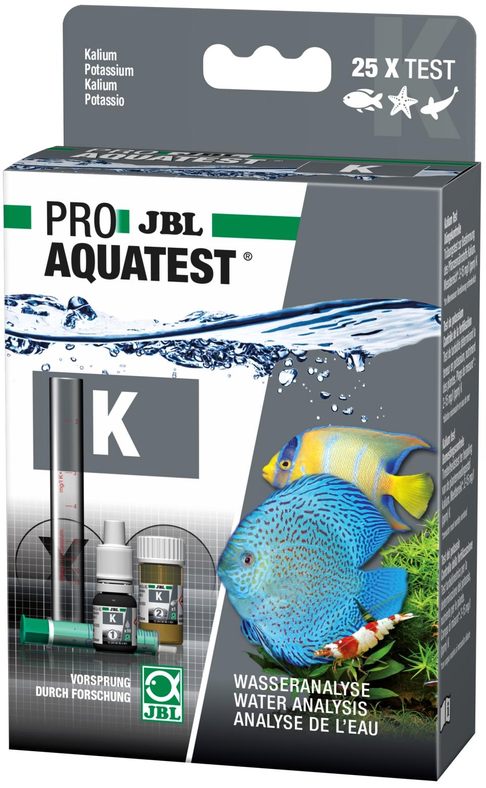 JBL ProAquaTest K test Potassium pour aquarium d\'eau douce