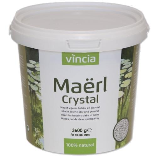 VINCIA Maërl Crystal 3600 gr clarifiant et assainissant 100% naturel en granulés pour bassin jusqu\'à 50000 L