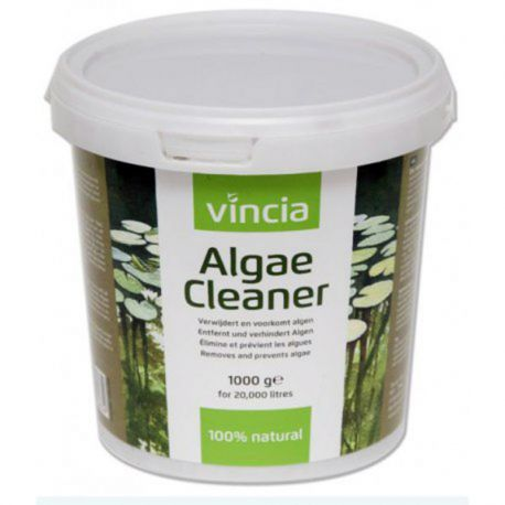 VINCIA Pond Cleaner 1000 gr anti-algues 100% naturel pour bassins jusqu\'à 20000 L