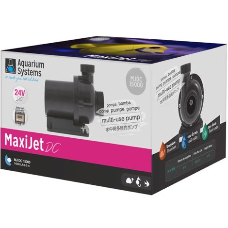 AQUARIUM SYSTEMS MaxiJet DC 15000 pompe de remontée 14000 L/h avec contrôleur électronique