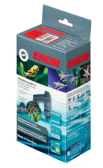 EHEIM 4004310 Kit Installation Set 2 - canne de rejet universelle pour tuyau 12/16 mm