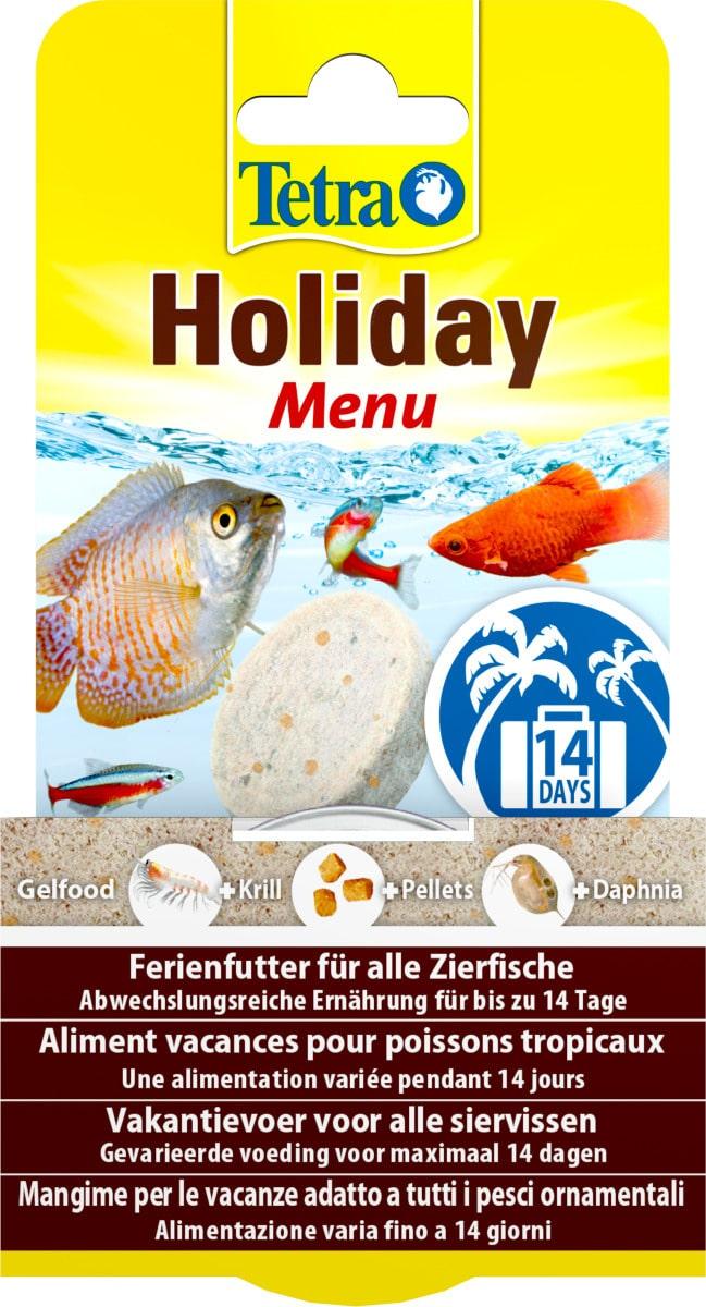 TETRA TetraMin Holiday bloc de nourriture 14 jours spéciale vacances pour poissons d\'aquarium