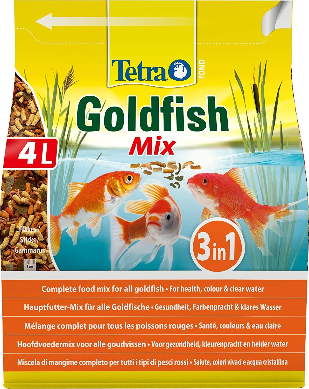 TETRA Pond GoldFish Mix 4L mélange alimentaire idéalement équilibré pour poissons rouges de bassin