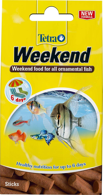 TETRA WeekEnd aliment complet en mini-blocs pour l\'alimentation des poissons d\'ornement pendant les week-ends et les courtes vacances