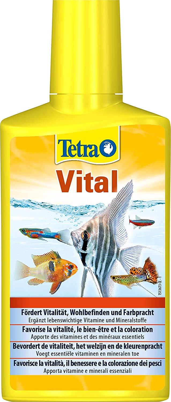TETRA Vital 250 ml soin vitaminé complet pour plantes et poissons d\'aquarium d\'eau douce