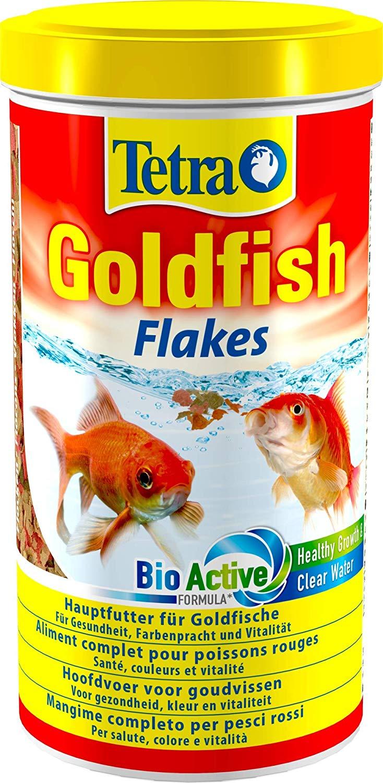 TETRA GoldFish 1L aliment complet en flocons de grande qualité pour tous les poissons rouges et d\'eau froide