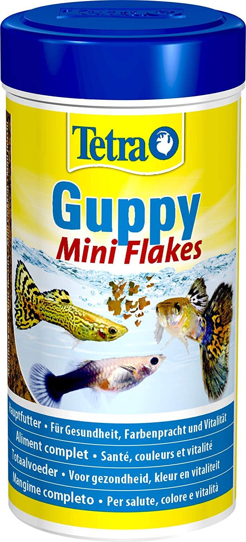 TETRA Guppy 250 ml aliment complet en flocons pour tous les guppies