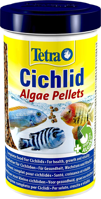 TETRA Cichlid Algae 500 ml aliment complet enrichi en Spirulina pour tous les Cichlidés herbivores