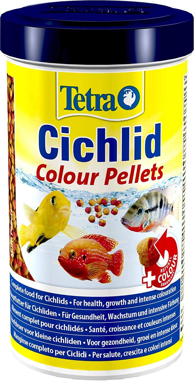 TETRA Cichlid Colour 500 ml aliment complet en perles réhaussant les couleurs des Cichlidés