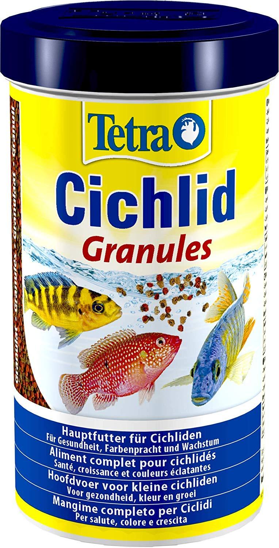 TETRA Cichlid Granules 500 ml aliment complet en granulés pour Cichlidés de taille moyenne de 5 à 10 cm