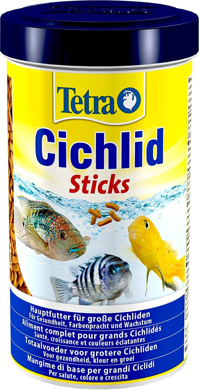 TETRA Cichlid Sticks 500 ml aliment complet en sticks pour tous les grands Cichlidés