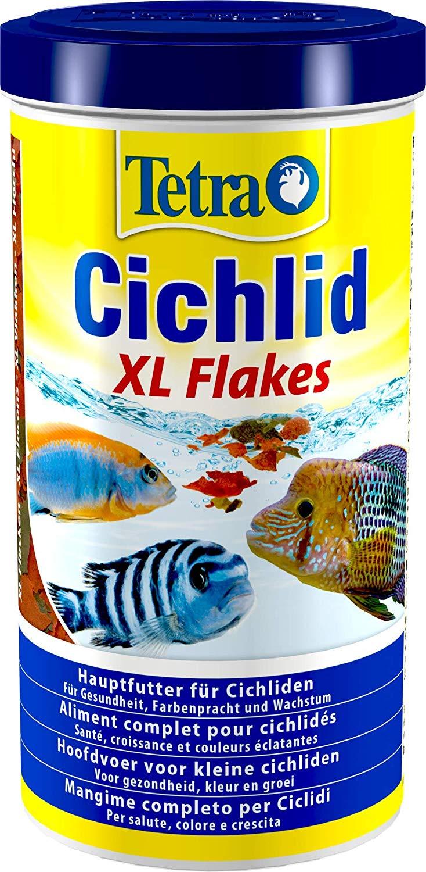TETRA Cichlid XL Flakes 1L aliment complet en flocons pour tous les Cichlidés et autres poissons d\'ornement