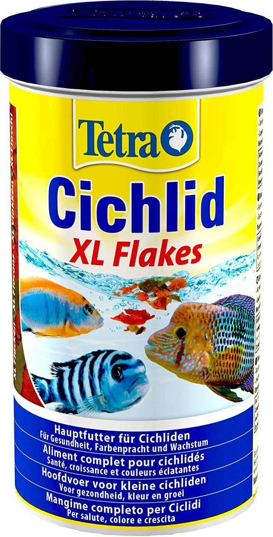 TETRA Cichlid XL Flakes 500 ml aliment complet en flocons pour tous les Cichlidés et autres poissons d\'ornement