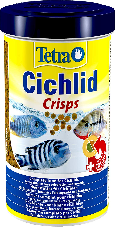 TETRA Cichlid Crisps 500 ml aliment en chips de qualité supérieure pour tous les Cichlidés