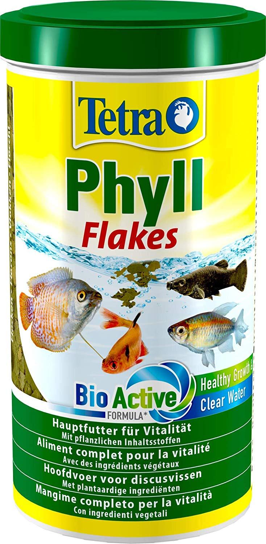 TETRA Phyll 1L aliment complet en flocons pour tous les poissons d\'aquarium herbivores